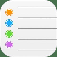 iOS Reminders's logo