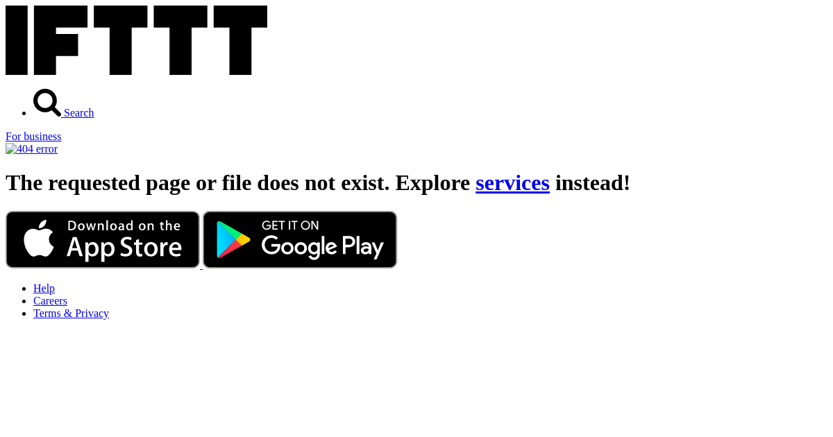 keep track of your mileage ifttt