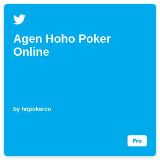 Agen Hoho Poker Online Ifttt